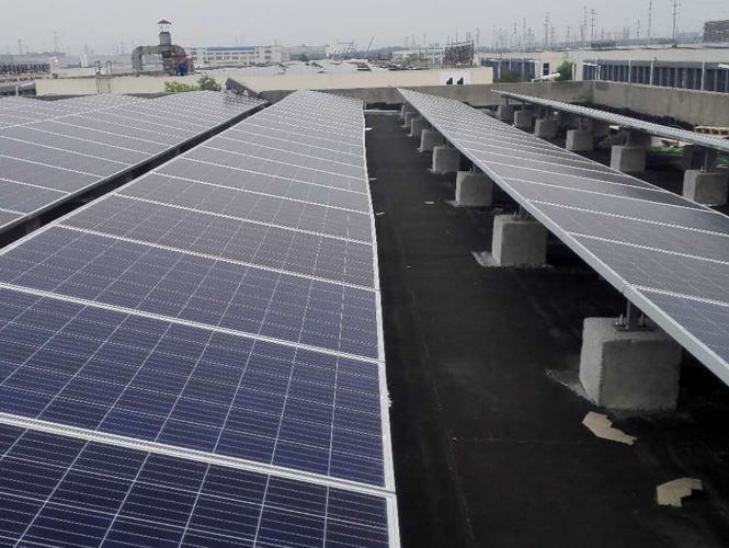 Factory roof PV station (3)