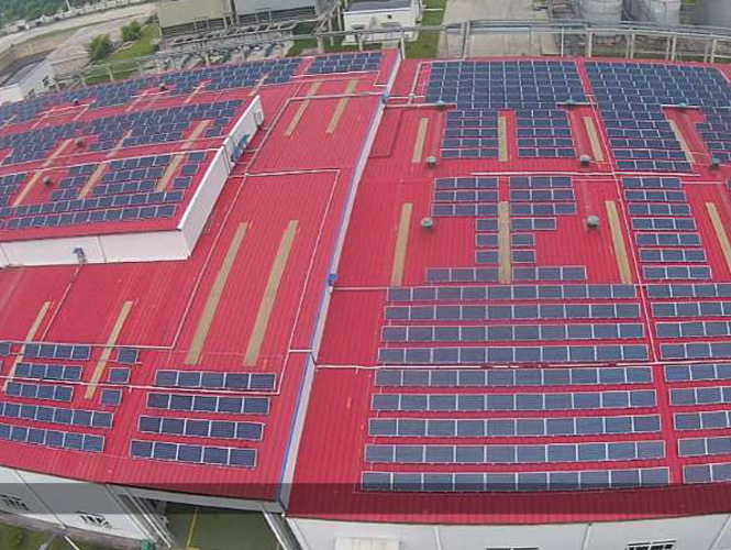 Factory roof PV station (5)